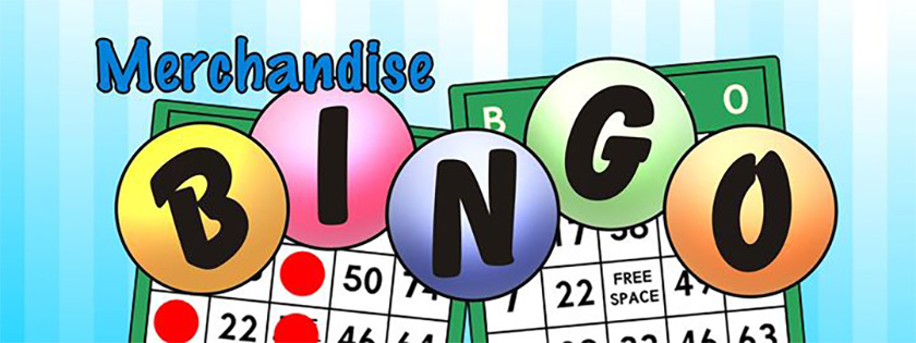 DCIS Adult Merchandise Bingo!